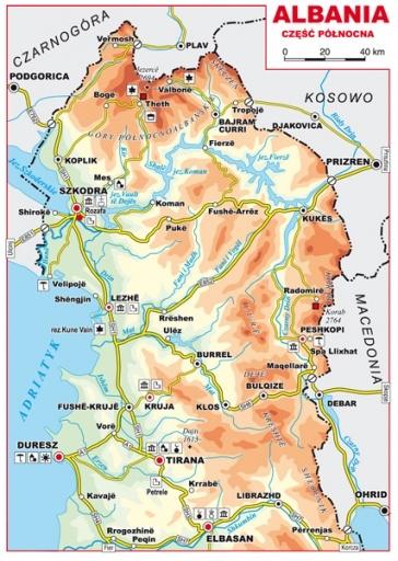 Albania Przewodnik Mapy Internetowa Ksiegarnia Turystyczna