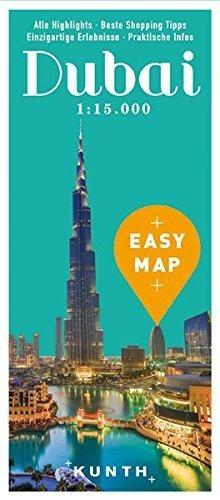 Dubaj Zea Mapa 1 100 000 Plan 1 15 000 Easymap Mapy