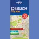 Edynburg (Edinburgh). Plan centrum. Lonely Planet