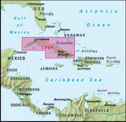 Kuba Cuba Mapa Samochodowa 1 775 000 Mapy Internetowa
