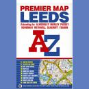 Leeds. Plan miasta 1:18 103. Premium Map.