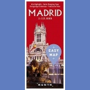 Madryt (Madrid). Plan miasta 1:13 000. Easy Map