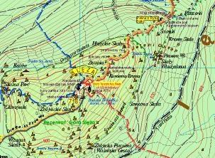 Masyw Slezy Sobotka Mapa Turystyczna 1 25 000 Mapy