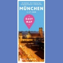 Monachium (Munchen). Plan miasta 1:17 500. Easy Map