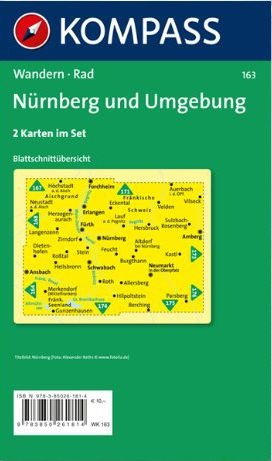 Norymberga i okolice nurnberg und umgebung zestaw 2 map - Mobelhauser nurnberg und umgebung ...