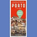 Porto. Plan miasta 1:15 000. Easy Map