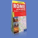 Rzym i Watykan (Rome andt the Vatican). Plan 1:12 000. see you! in...