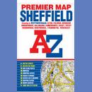 Sheffield. Plan miasta 1:18 103. Premium Map.