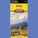 Sycylia (Sicily). Adventure Travel Map 1:225 000.
