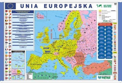 Unia Europejska Mapa Scienna 1 4 500 000 Mapy Internetowa