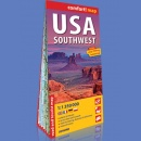 USA pd.-zach. (USA Southwest). Mapa laminowana 1:1 350 000. Comfort! map